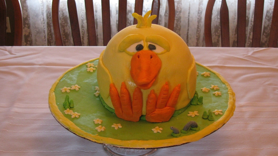 Easter Chicken on Cake Central