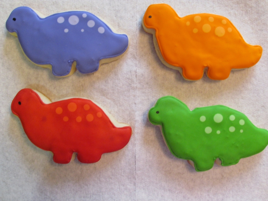 Dino Cookies on Cake Central