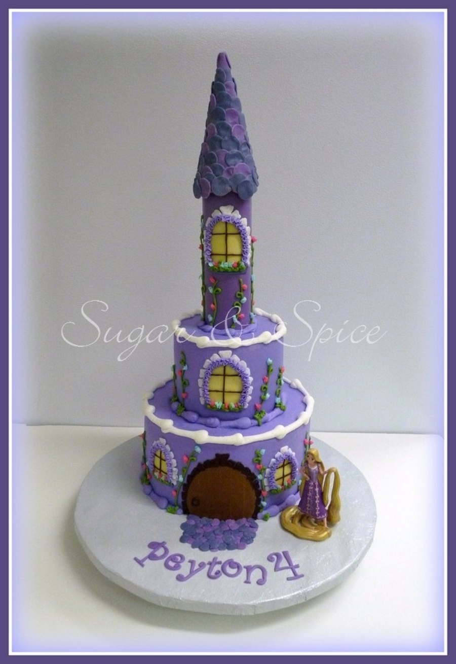 Peyton's Rapunzel Cake on Cake Central