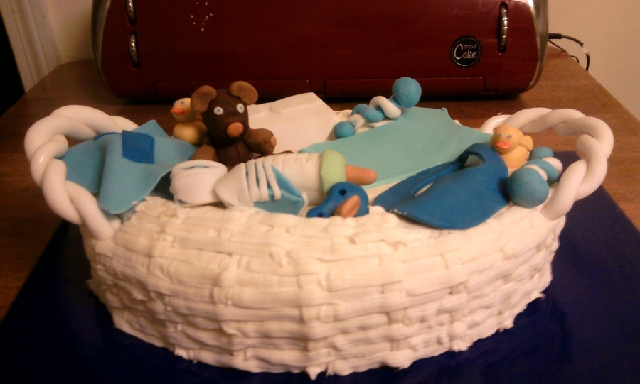 Baby Basket on Cake Central