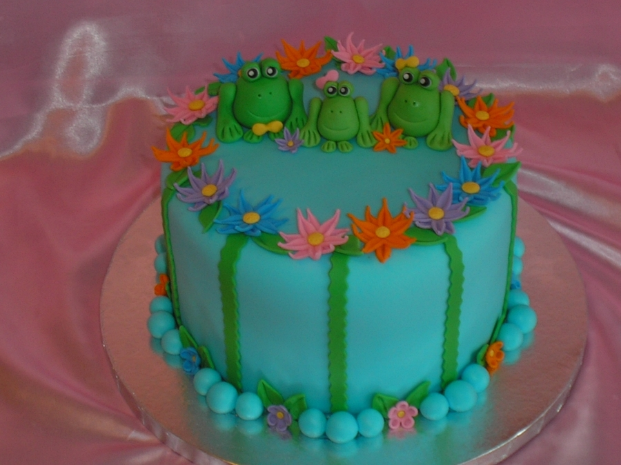 Frog Birthday on Cake Central