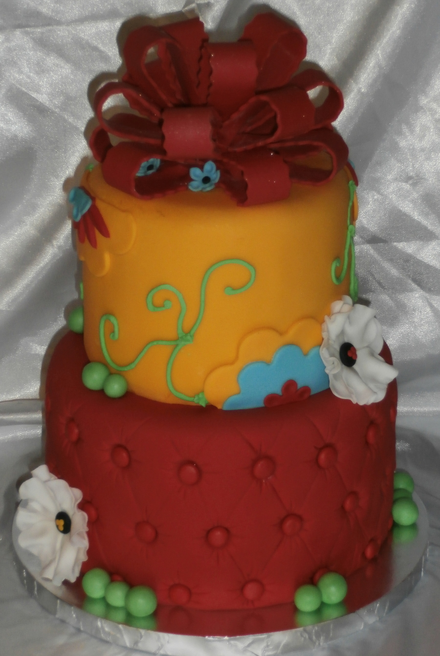 Red And Yellow on Cake Central