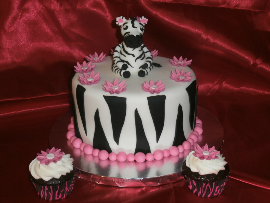 Zany Lanie's Zebra Birthday on Cake Central