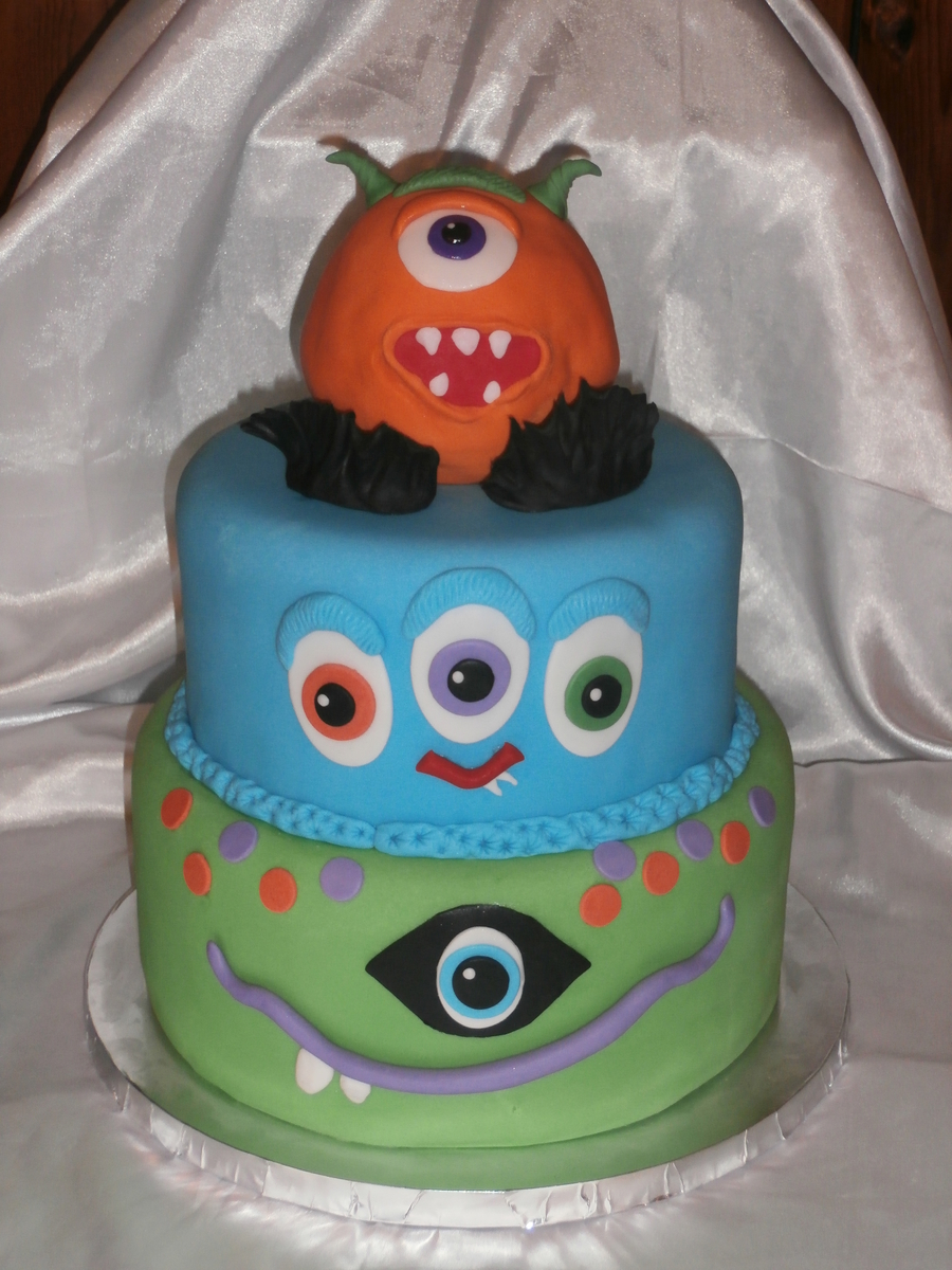 Aidan's Monsters on Cake Central