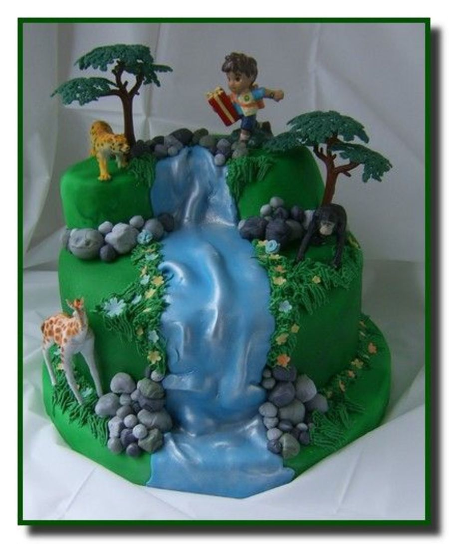 Diego Waterfall Cake Cakecentral Com