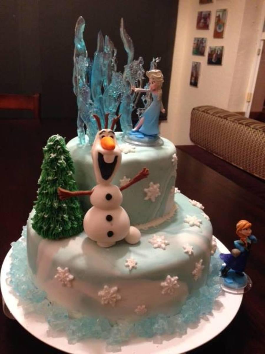 Disney Frozen Birthday Cake CakeCentralcom