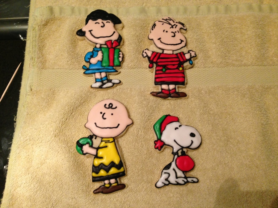 peanuts charlie brown christmas cakecentralcom - When Was Charlie Brown Christmas Made
