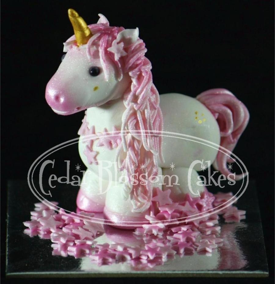 Pegasus Birthday Cake