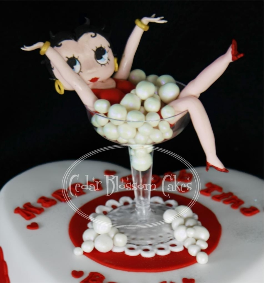 Betty Boop Cakecentral Com