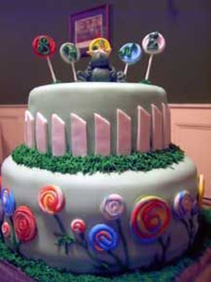 Lollipop Garden on Cake Central
