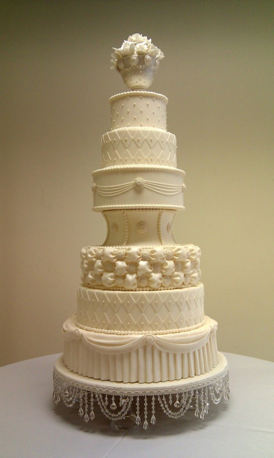 "Wedding Cake ""diane"" on Cake Central"