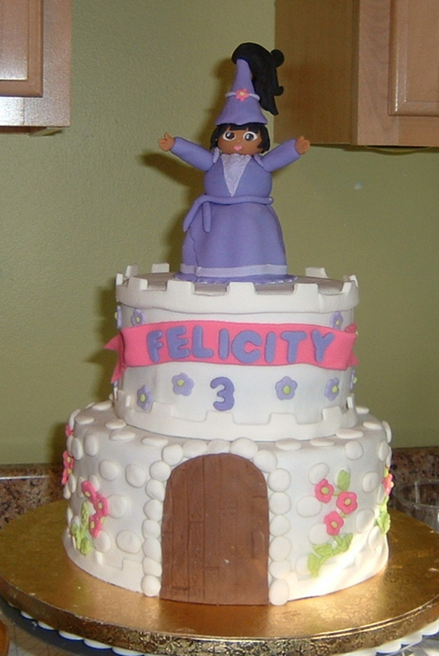 Felicity's Dora The Explorer Cake on Cake Central