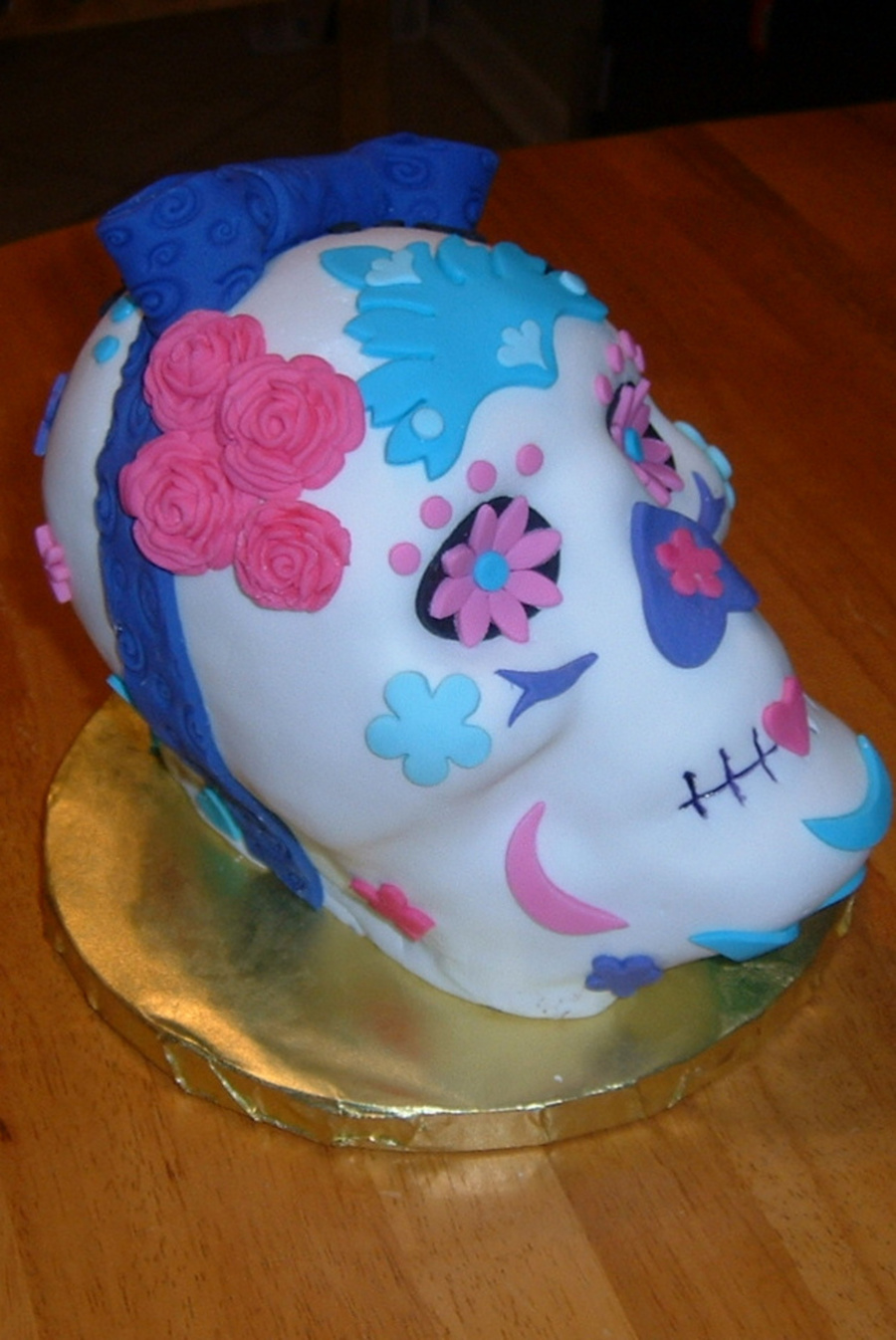Day Of The Dead Cake From The Large Discontinued Wilton 3d