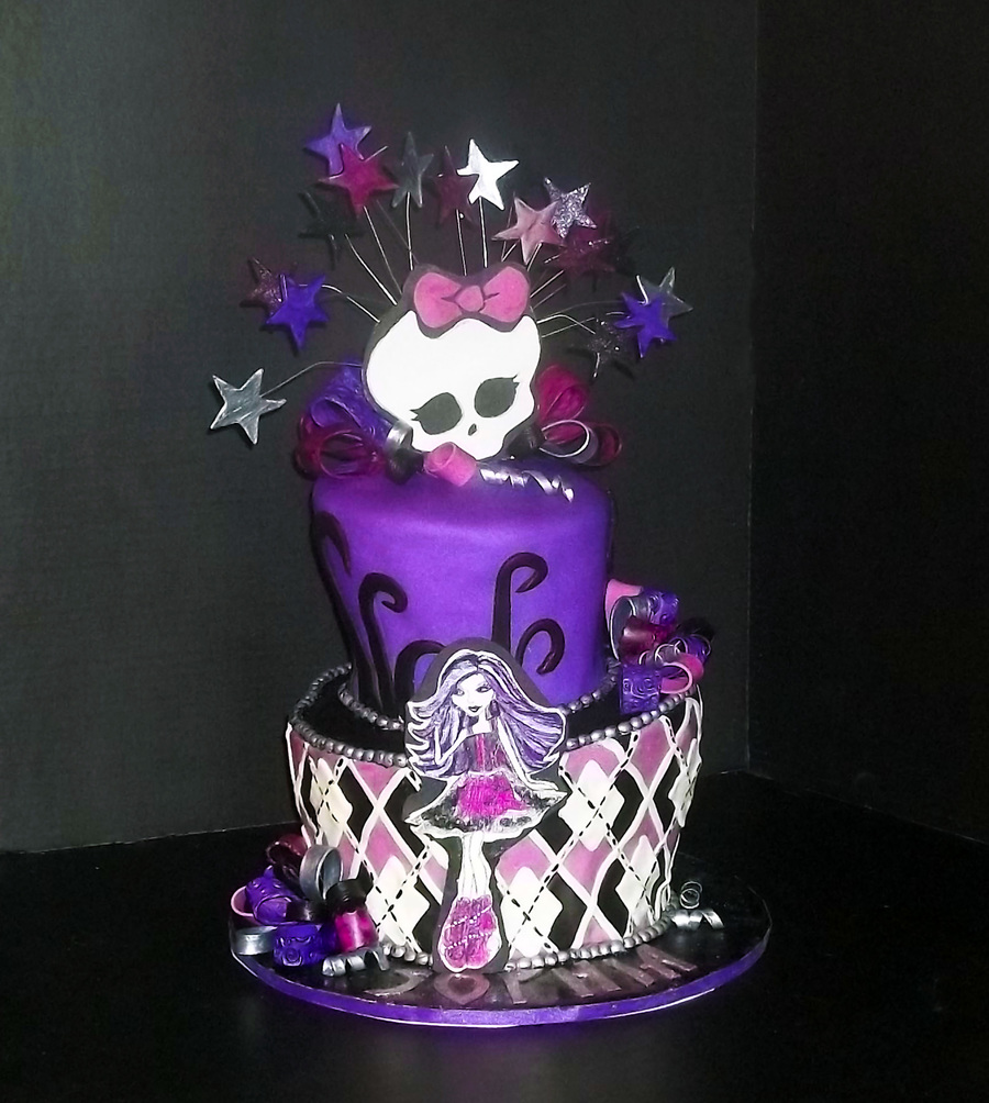 Monster High Cake Decorating Ideas