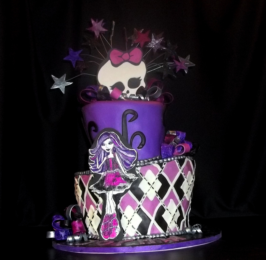 Monster High Spectra Cakecentral Com