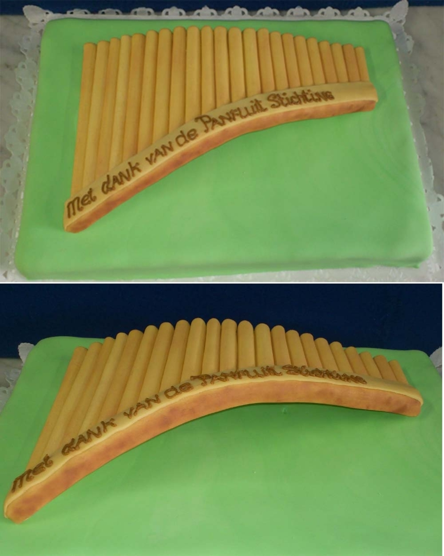 Sugar Panflute  on Cake Central