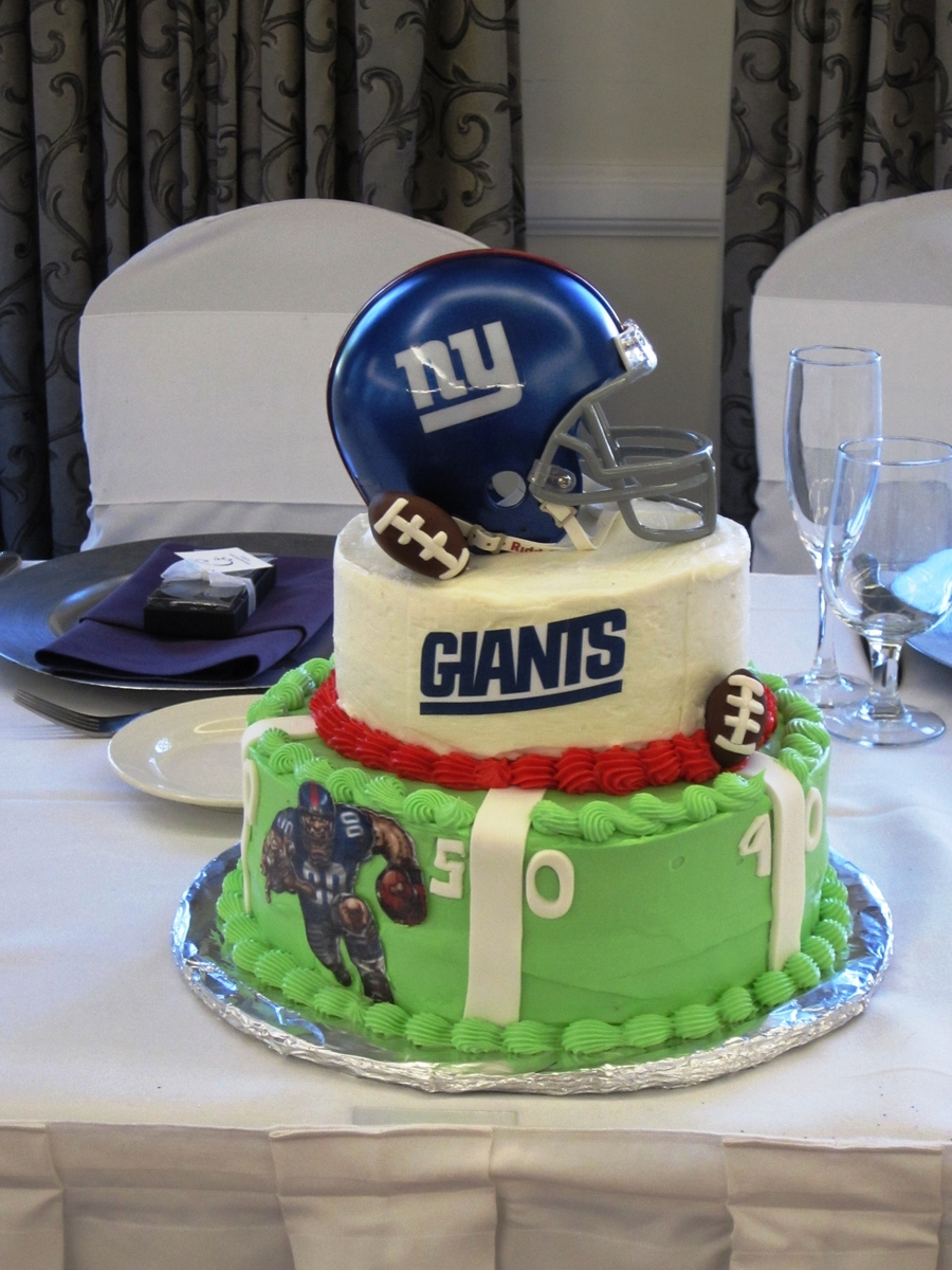 Giants - All The Way on Cake Central