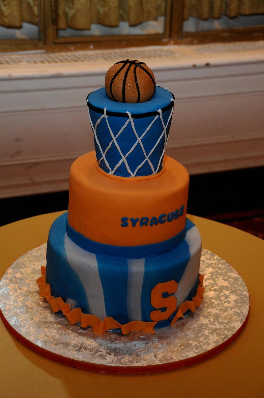 syracuse university basketball cake. Black Bedroom Furniture Sets. Home Design Ideas