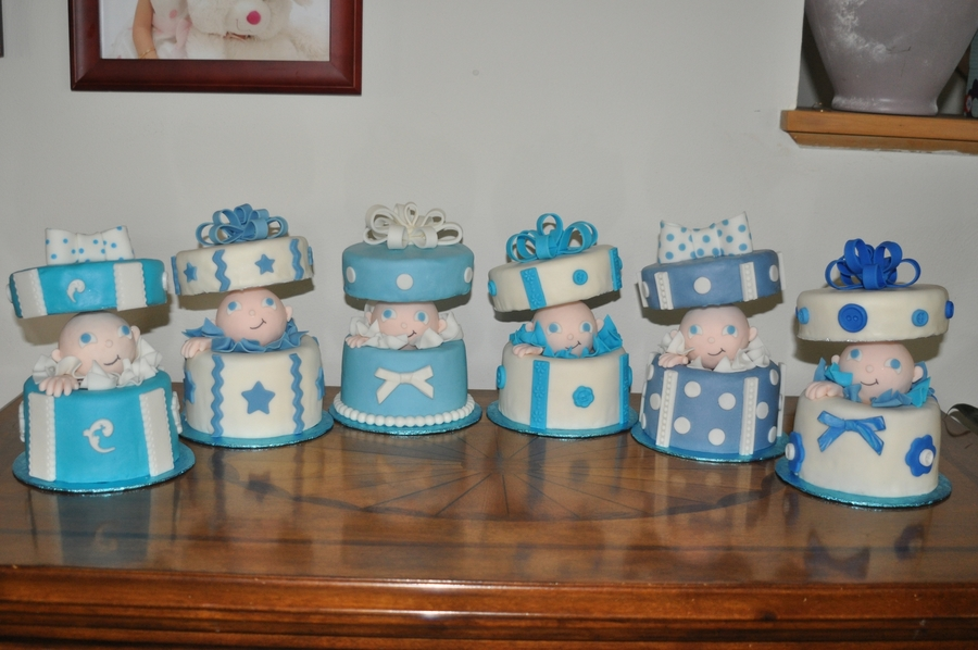 Babies In Boxes on Cake Central