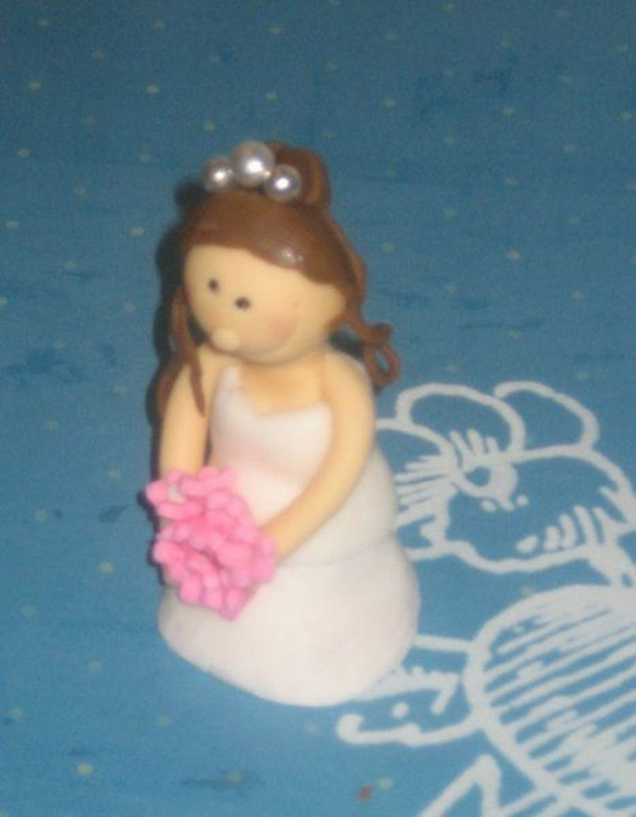 Bride Cake Topper on Cake Central