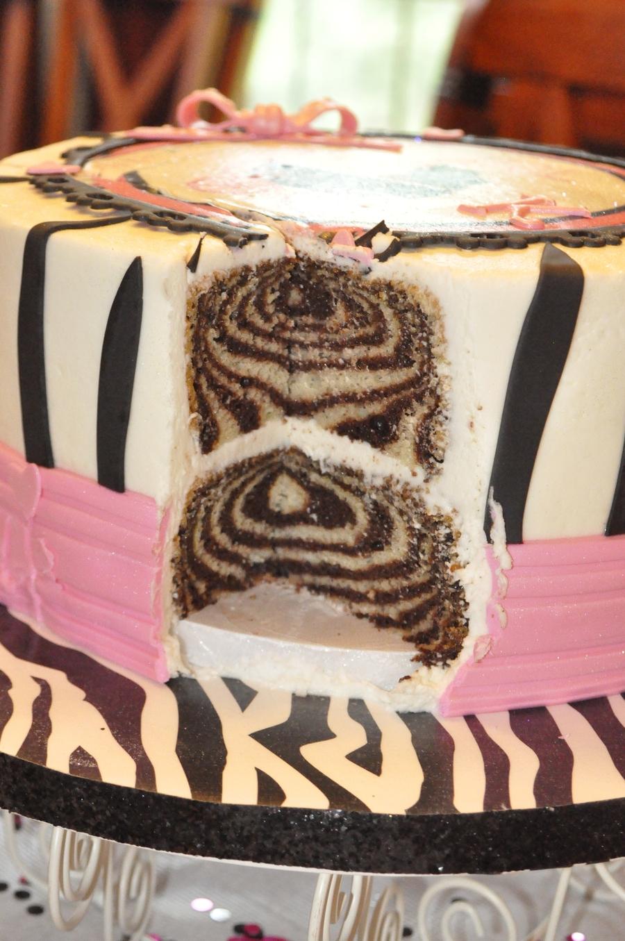 Zebra Stripes - CakeCentral.com