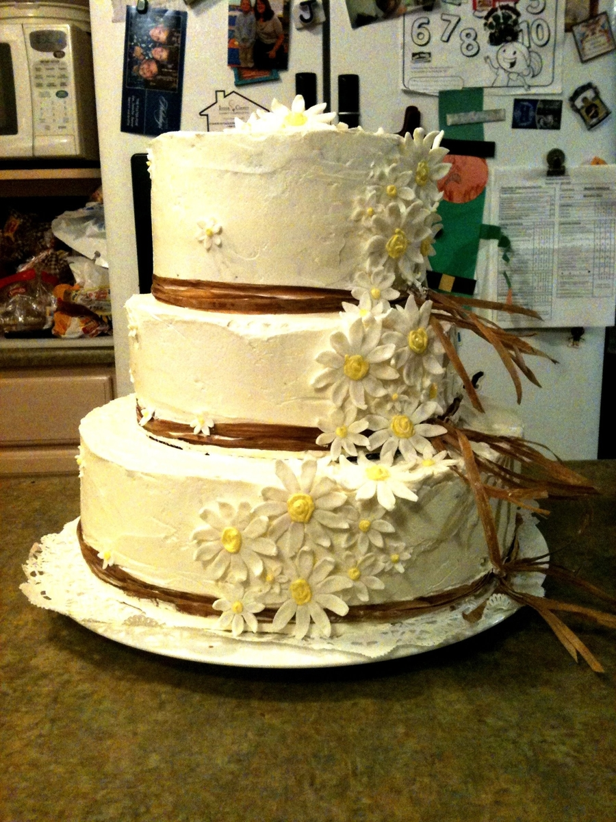 Daisy Wedding on Cake Central