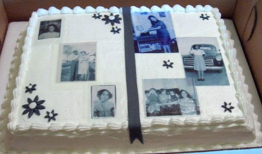 70Th Birthday For My Grandmother on Cake Central