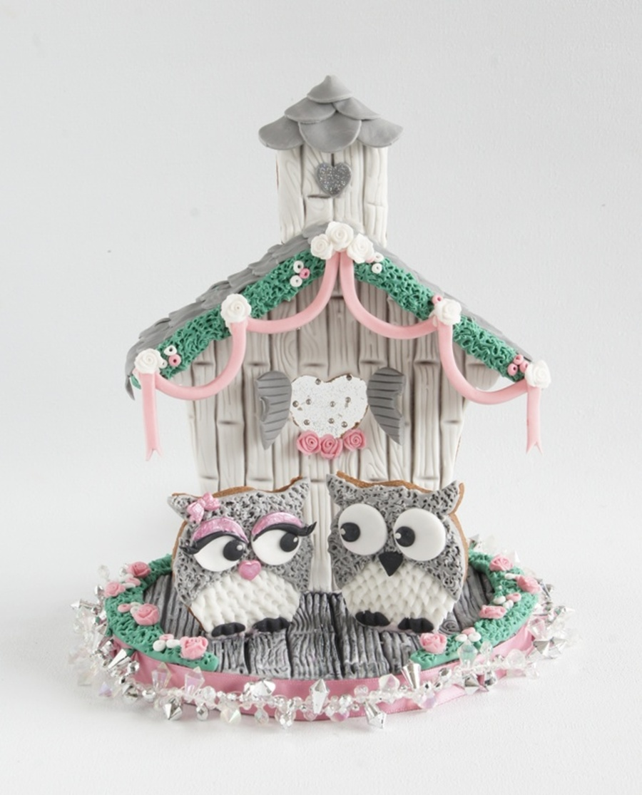 Going To The Chapel....an Owls Wedding  on Cake Central