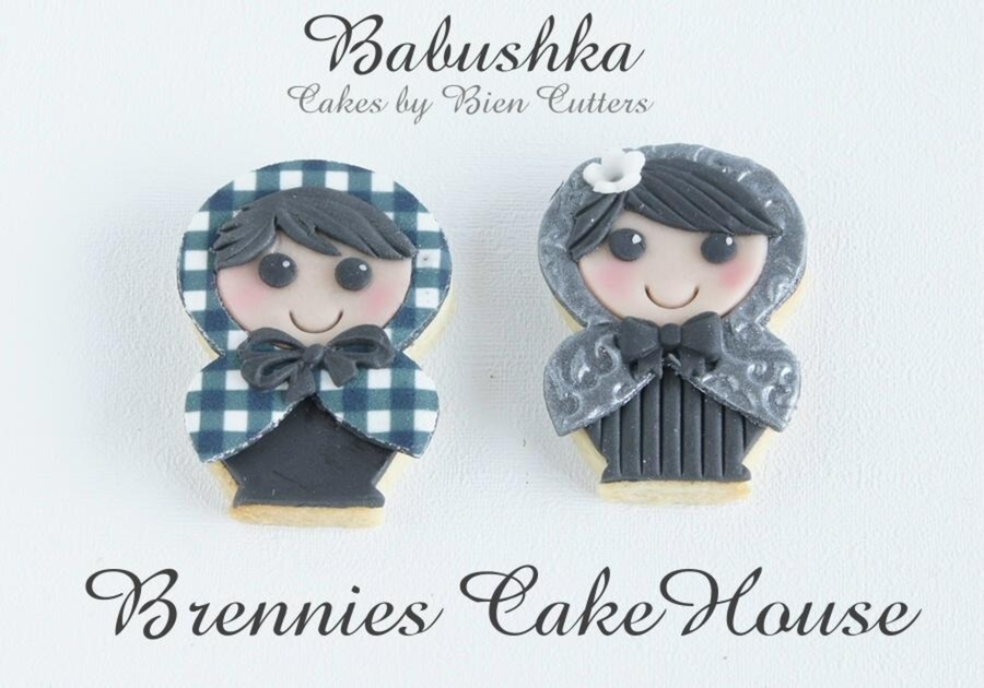 Babushka Cookies on Cake Central