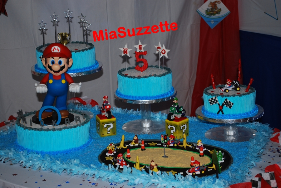 Mario Cakes... on Cake Central