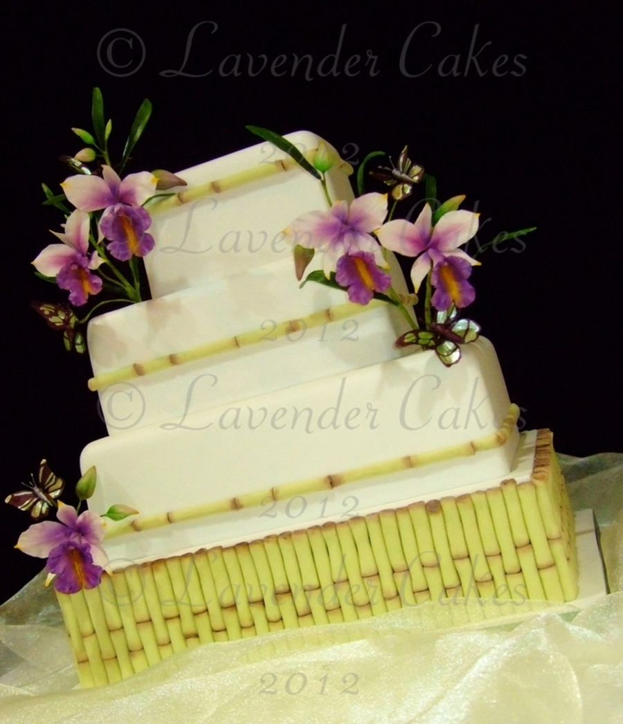 Oriental Bamboo  on Cake Central