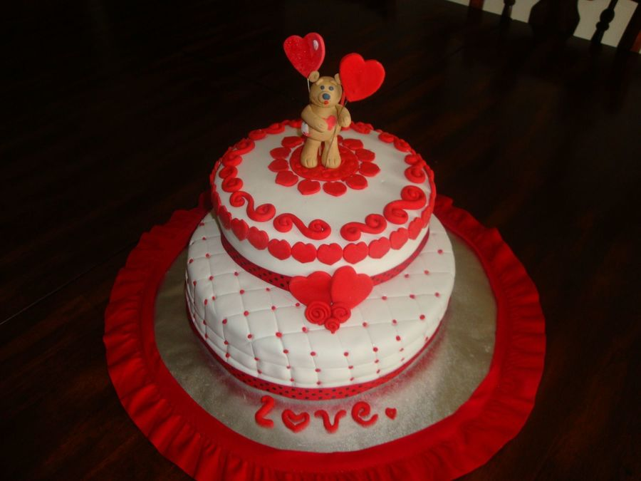 Sweet Valenti's Day on Cake Central