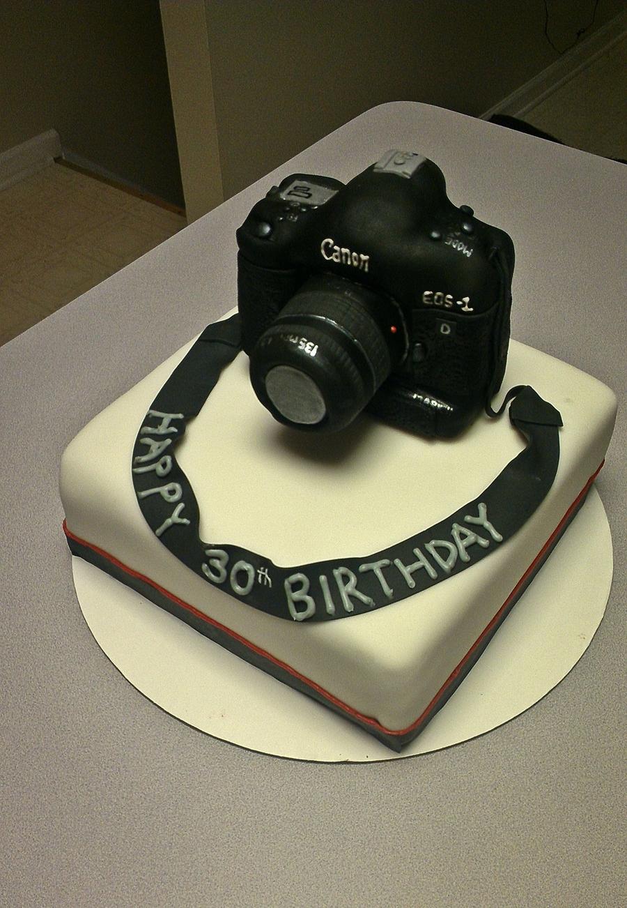 Canon Camera Cake Design : Canon Camera Cake - CakeCentral.com