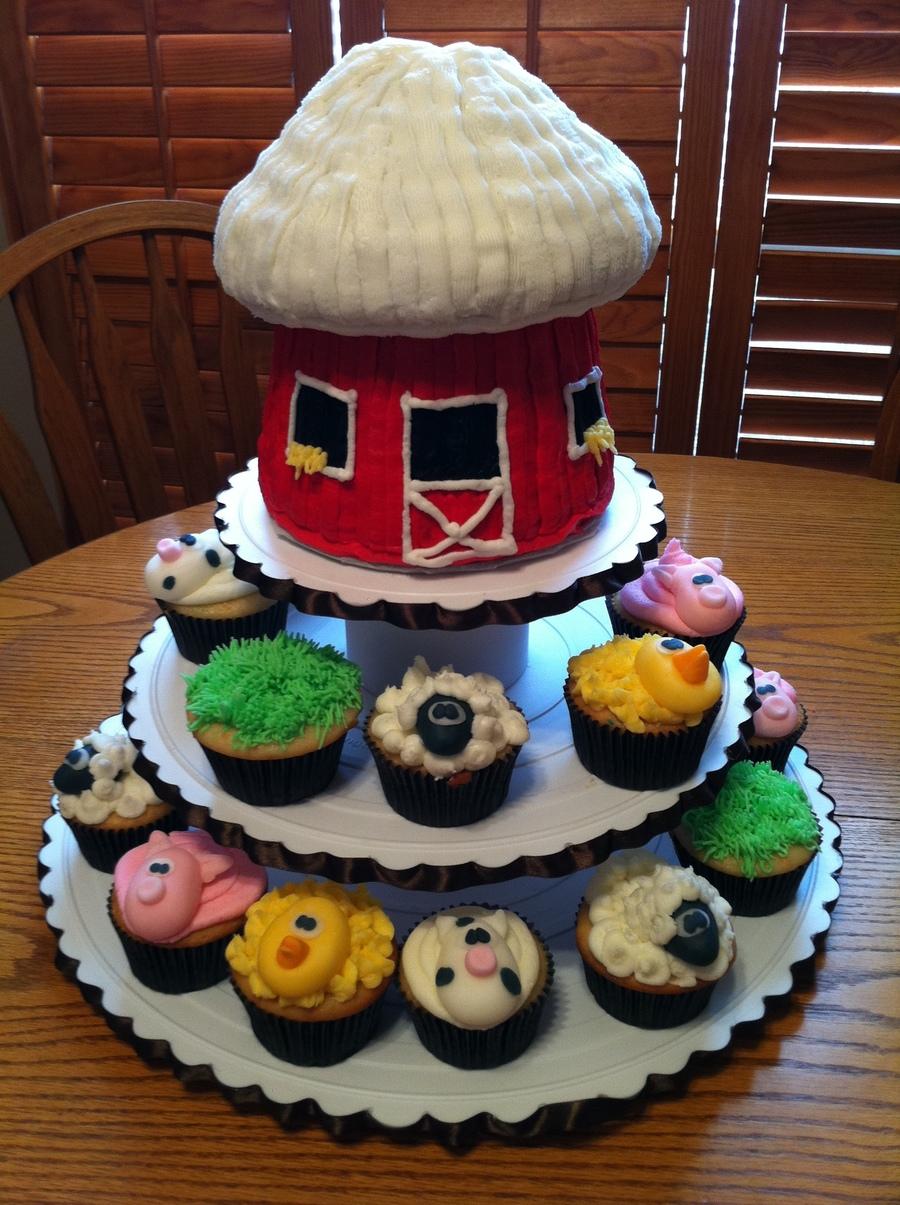 Farm Cupcakes Cakecentral Com