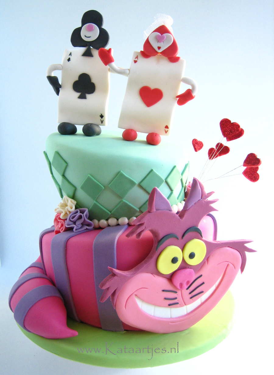 Cheshire Cat Wedding Cake
