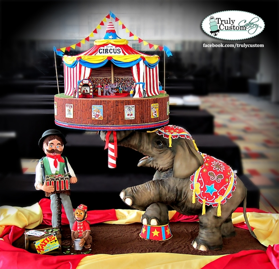 Under The Big Top! on Cake Central