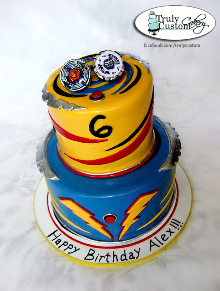 Beyblade Birthday Cake Cakecentral