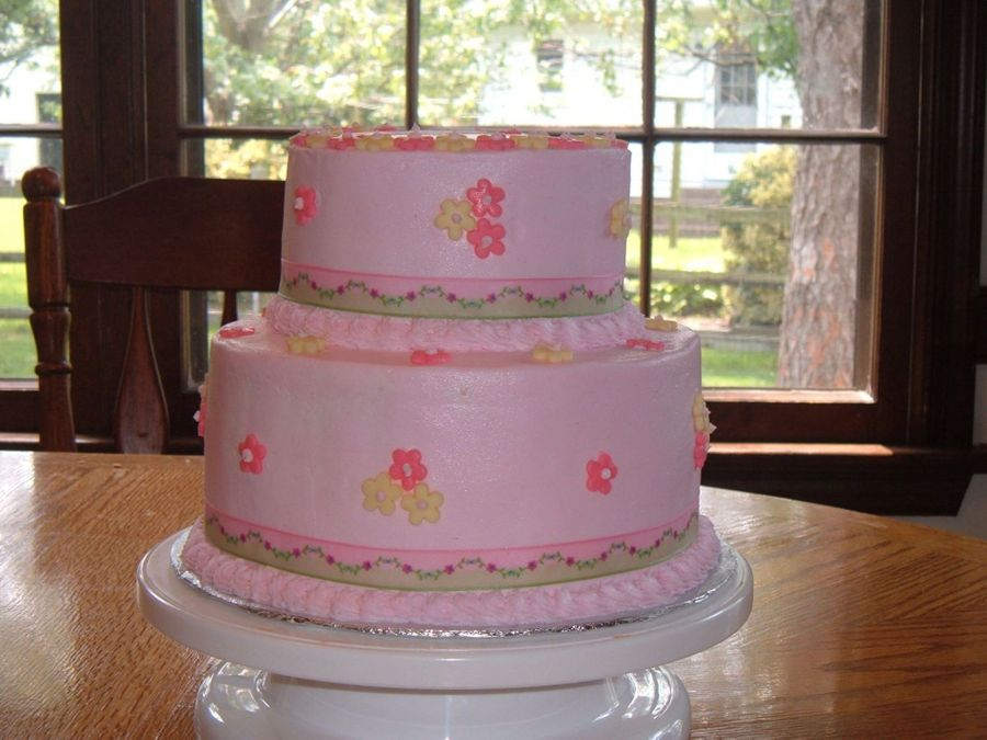 Pink W/ Ribbon on Cake Central