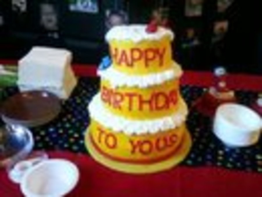 Dr Seuss Happy Birthday To You Cakecentral