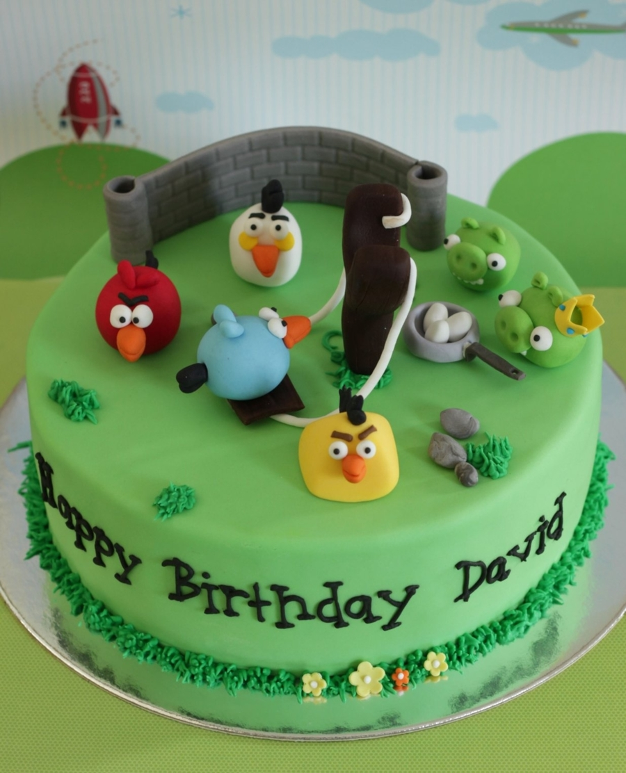 Angry Birds Competition Entry on Cake Central