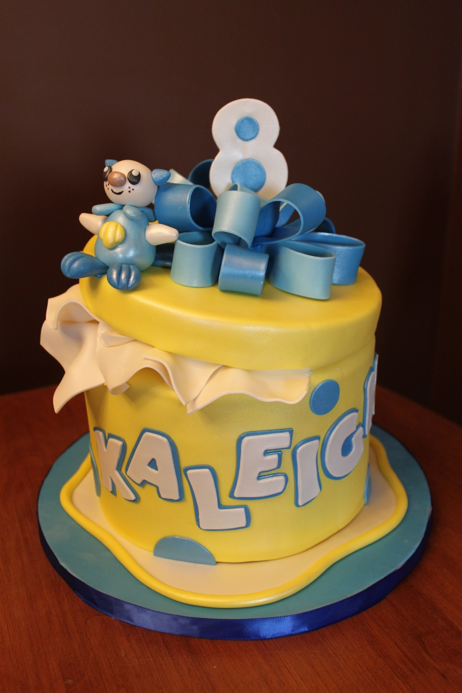 Happy 8th Birthday Kaleigh Cakecentral