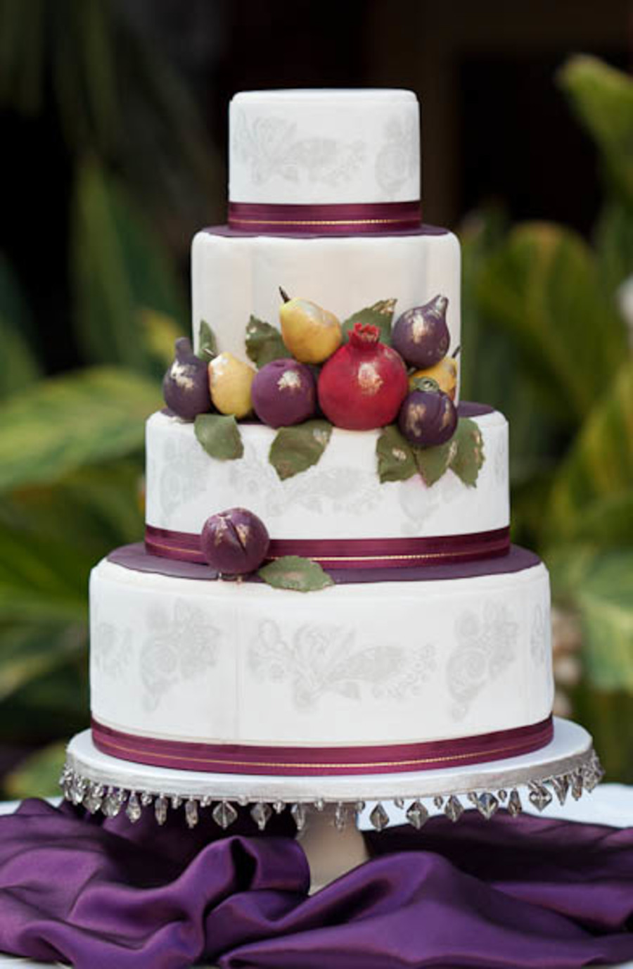Elegant Fondant Fruits on Cake Central