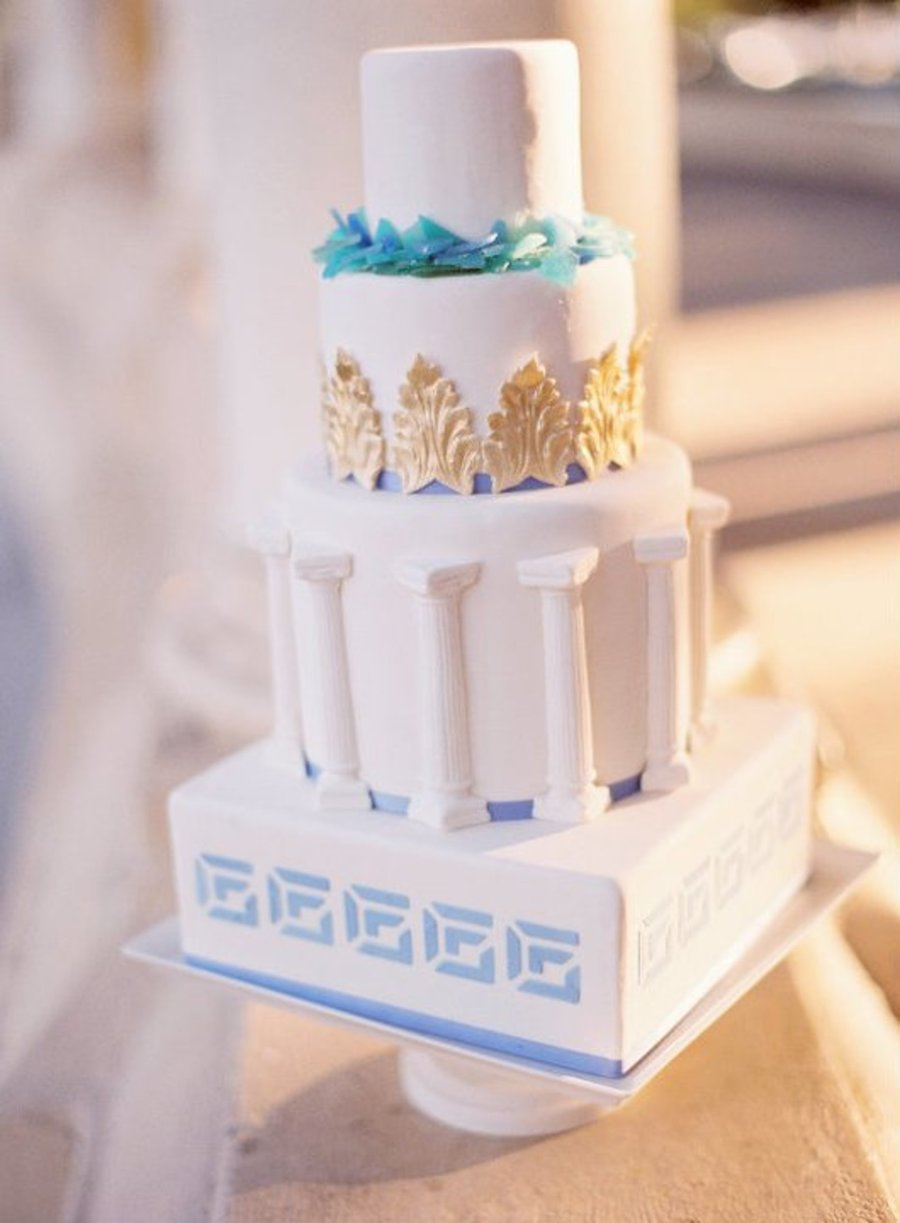 Greco Roman Cake on Cake Central