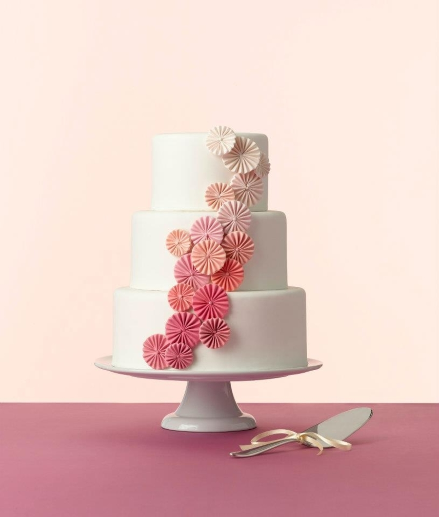 Pink Ombre Pinwheels  on Cake Central