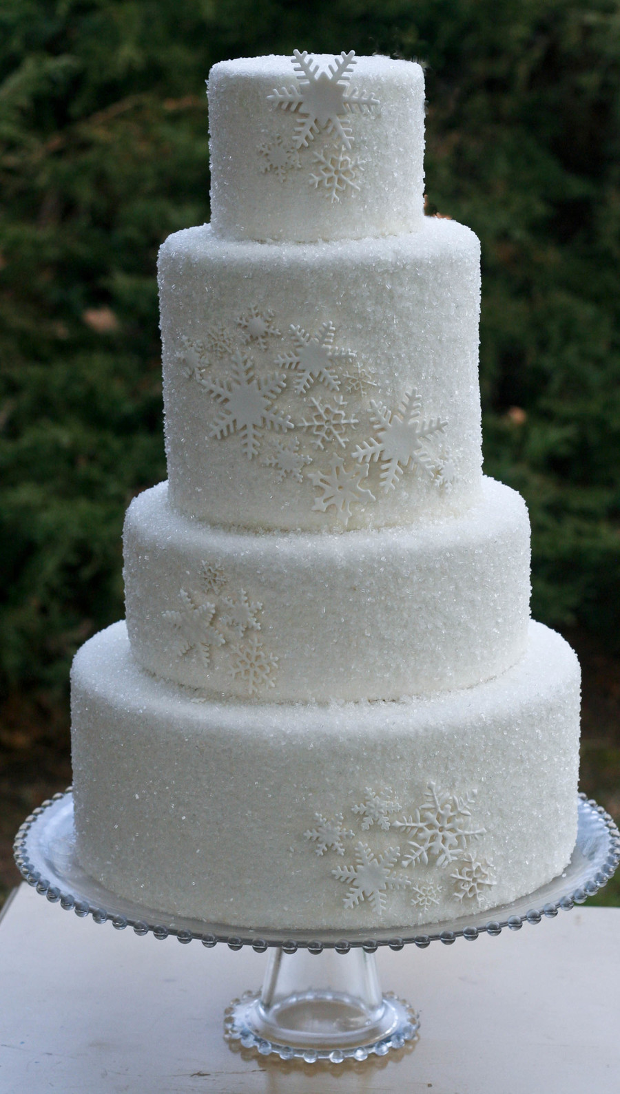 How To Use Sanding Sugar On Cakes