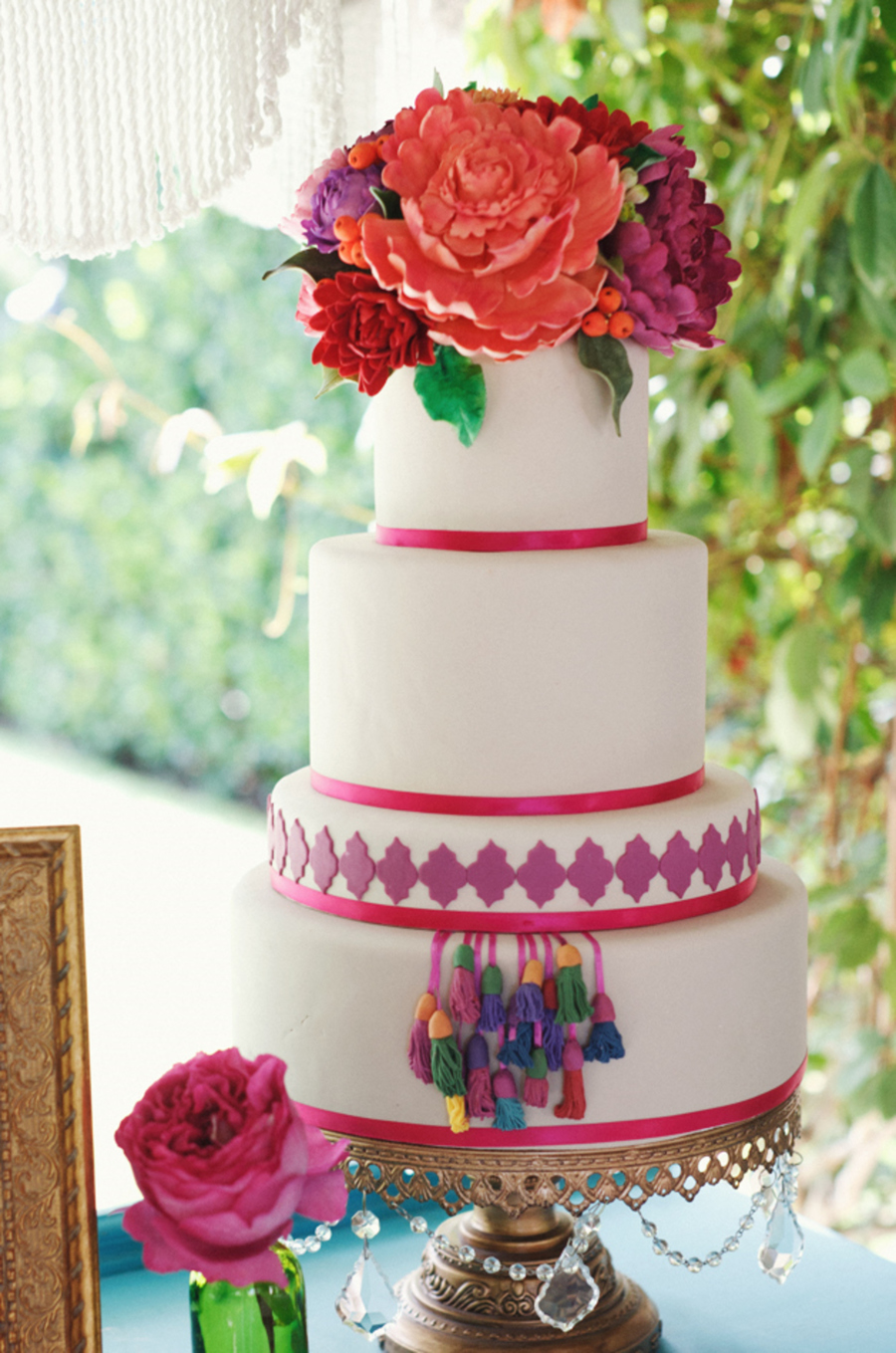 Bouquet Of Gumpaste Flowers on Cake Central