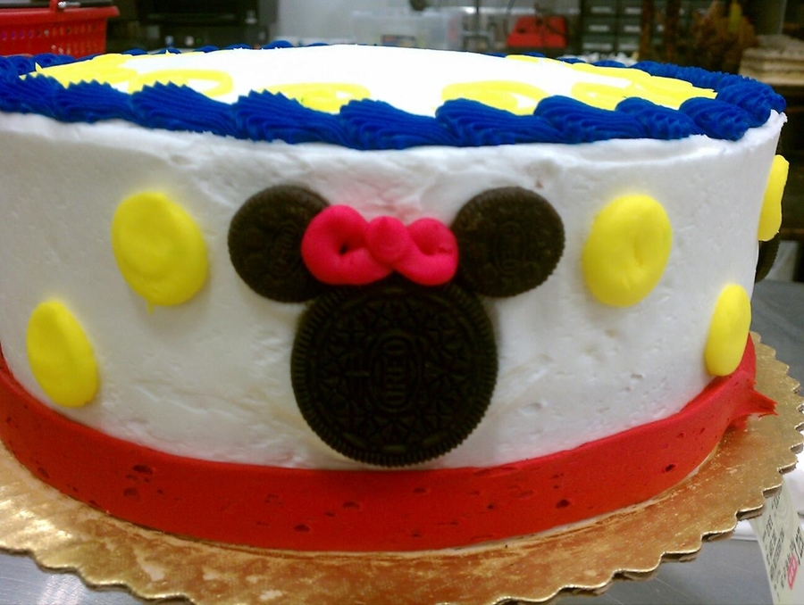 Mickey And Minnie Cake on Cake Central