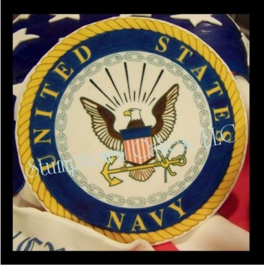 Navy Retirement Cake Pictures