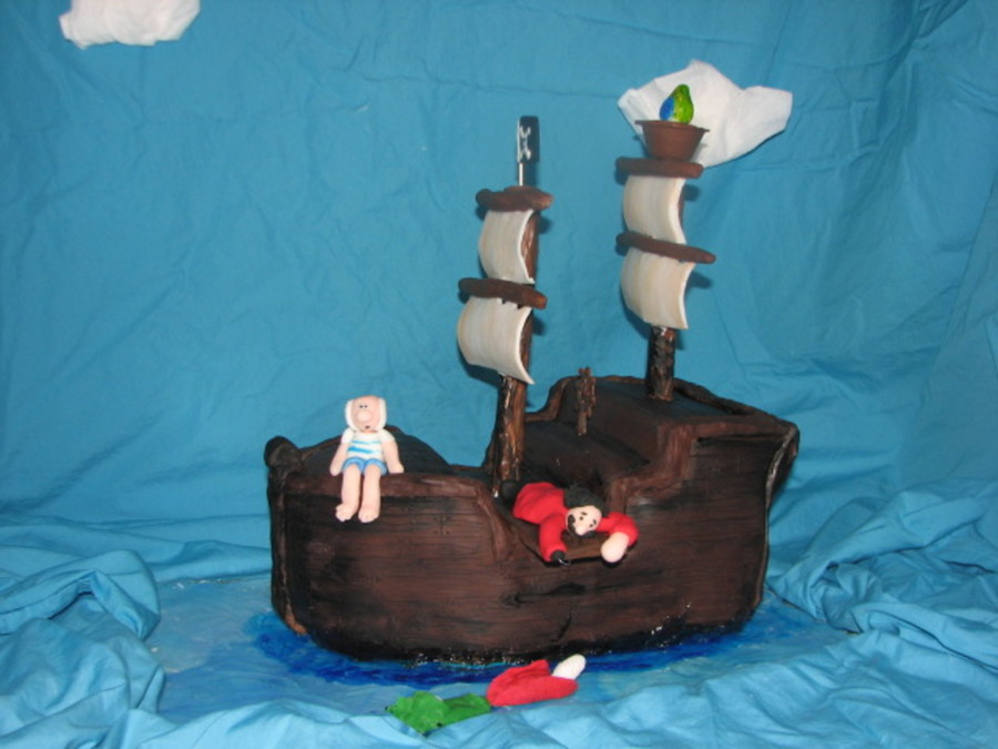 Pirate Ship on Cake Central