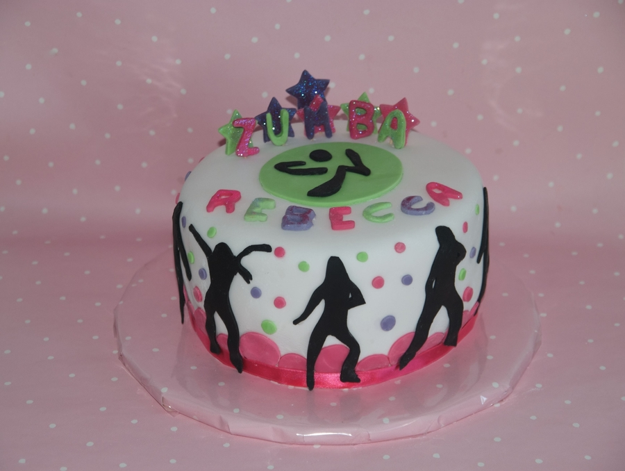 Zumba Cake Cakecentral Com